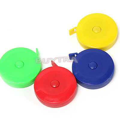 Retractable Ruler Tape Measure Sewing Cloth Body Dieting Tailor 150cm 60inch GX