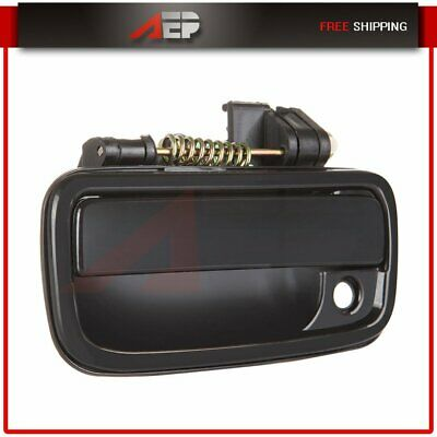 Door Handle Black Exterior Outer Front Left Driver Side for 95-04 Toyota Tacoma