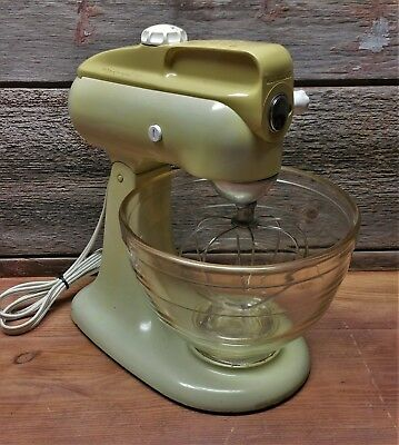 Vintage Kitchenaid Mixer Model 3 C With Instructions And Recipes