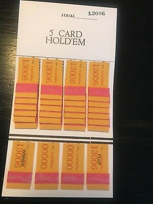One Dozen 5 Card Hold'em Free Shipping USA    MADE IN THE USA