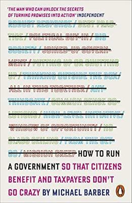 How to Run A Government by Michael Barber New Paperback Book