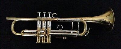 Vintage 1950's Mount Vernon Bach Stradivarius Professional Trumpet with Case