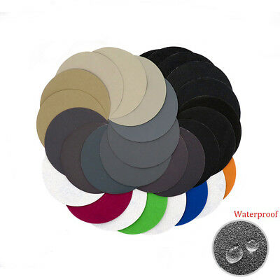 5'' 125mm Hook and Loop Sanding Disc 60 - 10000 Grit Wet or Dry Sandpaper Pads