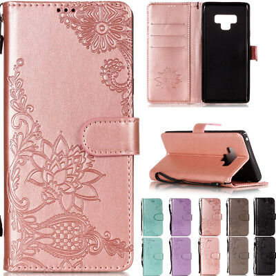 Luxury Flip Leather Wallet Card Strap Stand Cover Case For Huawei Y5/Y6 2018 P20