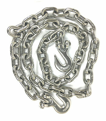10ft Stainless Steel T316 Proof Coil Chain Marine Grade Chain