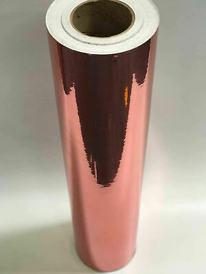 **Best Quality On Ebay** A4 Sheets Rose Gold Metallic Self Adhesive Sign Vinyl