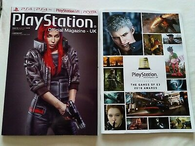 PlayStation Official Magazine #151 August 2018 (Cyberpunk 2077) + E3 Awards mag