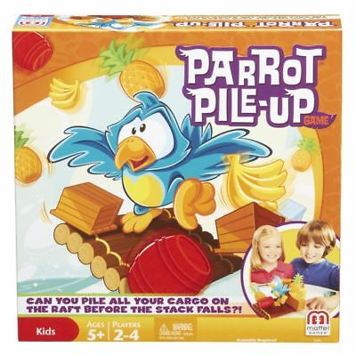 Parrot Pile Up Fun Kids Game Xmas Gift Party Family Board Arcade Pileup Present