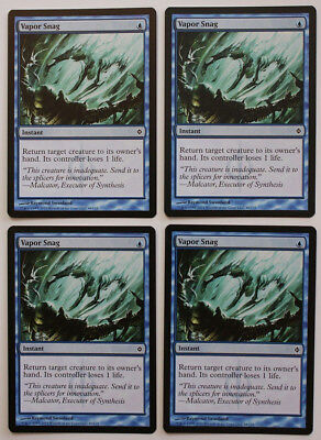 English New Phyrexia MTG Magic 2x Vapor Snag NM-Mint