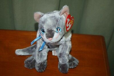 d16127d070b TY Frisco the Grey Cat Beanie Baby 04586