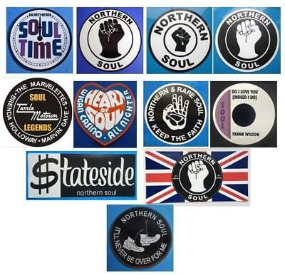 Northern Soul Car Window Sticker - Selection Of Car Stickers At £1 Only Bargain