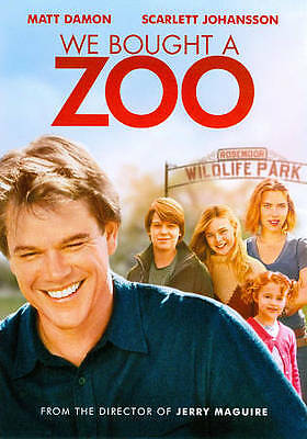 We Bought a Zoo (DVD, 2012) SHIPS IN 1 BUSINESS DAY WITH TRACKING