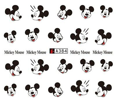 ❤️Nouveau Stickers Mickey Mouse Bijoux Ongles Nail Art Manucure
