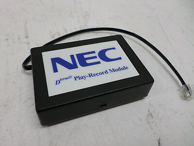NEC Dterm Play-Record Module w/ Integrated RJ-12 Cable for Dterm Phones
