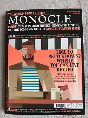 Monocle Magazine Issue 105 July/August 2017