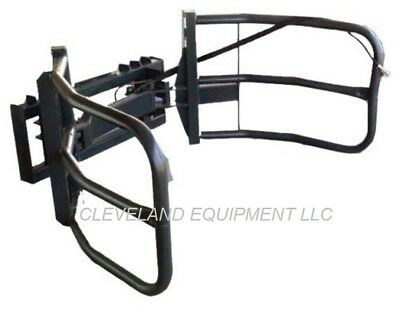 NEW BALE GRABBER GRAPPLE / HAY SQUEEZE ATTACHMENT Bobcat Case Skid Steer Loader