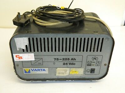 VARTA Fork lift 24vdc Battrey charger