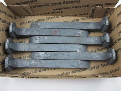 Carbon Steel Railroad Spikes - Lot Of Six (6) Brand New - Blacksmith - Knife