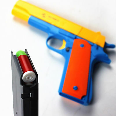 Classic Toy Gun Pistol Nerf m1911 Kids Dart Guns With Soft Bullet Outdoor Play