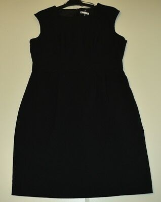 Target Woman's Black Dress Work To  Formal Size 16  - Free Postage
