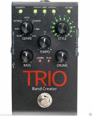*DIGITECH TRIO Band Creator Pedal FACTORY BRAND NEW WITH FREE SHIPPING*