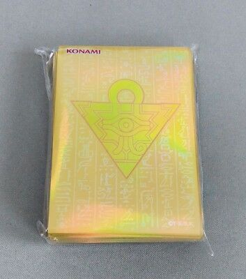 Yugioh/ Official Card Sleeve Protector: Millennium Box Gold Edition/ 55pcs