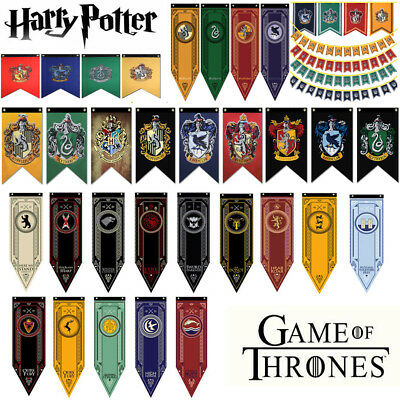 Game of Thrones/Harry Potter House Banner Gryffindor Dragon Flag Poster Wall Hom