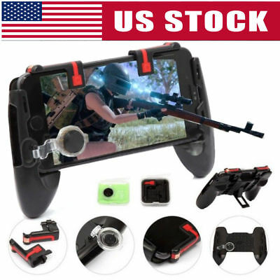 PUBG Shooter Controller Gaming Joystick Handle Trigger For Cell Phone Mobile