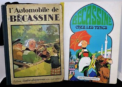 2 Bécassine dont une édition originale 1927 - l'automobile de bécassine