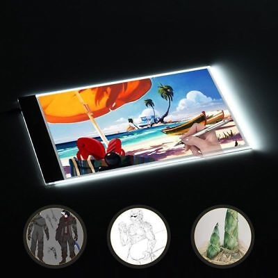 Erasers A4 LED Light Tablet Drawing Board Panel Stencil Pad for Diamond Painting