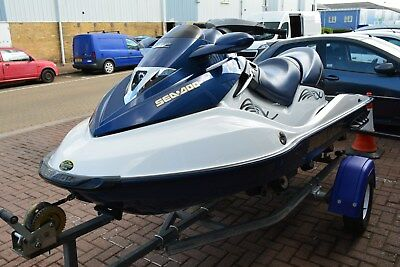 Seadoo GTX 4-tec 155 Jet Ski Trailer Seadoo JETSKI 3 seater 2005 good condition