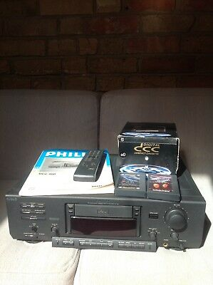 Philips DCC 'Digital Compact Cassette' Package