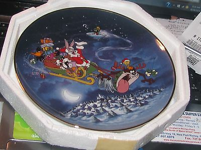 Looney Tunes What's Up Santa? Limited Edition - Franklin Mint