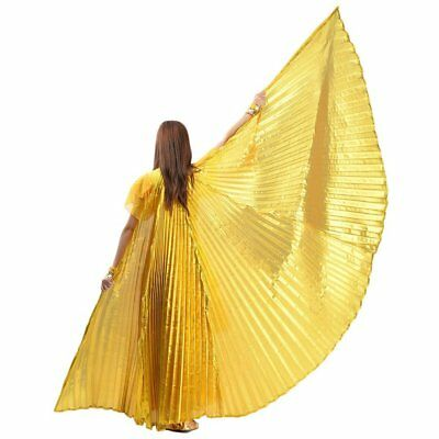 Egyptian Egypt Belly Dance Dancing Costume Isis Wings Dance Wear Wing&Q