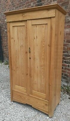 antique continental pine wardrobe  UK delivery available