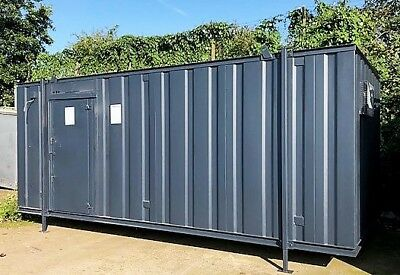 21ft x 10ft MALE/FEMALE TOILET BLOCK - DISABLED FACILITIES - GOOD SPEC/CONDITION