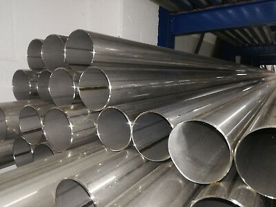 Stainless Steel Tubing 42mmx1000mm V2A Exhaust Pipe