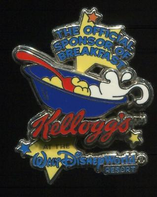WDW Kellogg's Official Sponsor of Breakfast #2 Mail in Disney Pin 18871