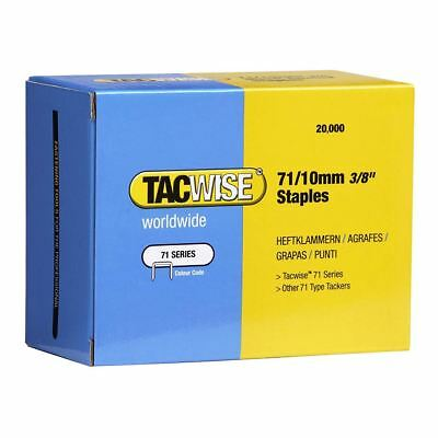 Tac Wise 71 Series 4mm-16mm Galvanised Upholstery Wire Staples Box of 20000