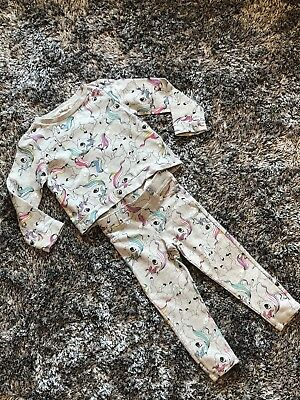 Worn Once - H&M Unicorn Tracksuit - 2-4 Y Top 2-3 Y Trousers
