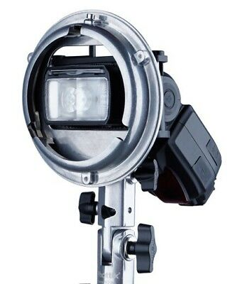 Staffa porta flash Cerberus Multi Mount PHOTTIX® con attacco Elinchrome, Bowens