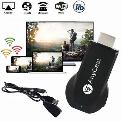 HDMI TV Stick AnyCast Plus 1080P 3D WiFi Wireless Miracast DLNA Airplay fr Apple