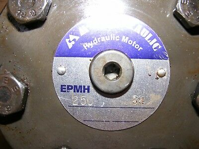 250cc Hydraulic Motor. M+S, Eaton, Adan. For Auger, Winch etc