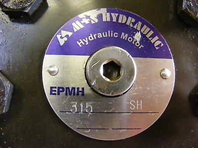 315cc Hydraulic Motor. M+S, Eaton, Adan. For Auger, Winch etc