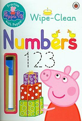 Peppa Pig: Practise with Peppa: Wipe-Clean Numbers by NA New Paperback Book