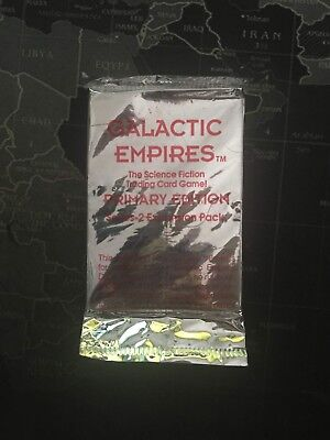 Galactic Empires - Primary Edition - Sealed Booster Pack - CCG TCG Cards