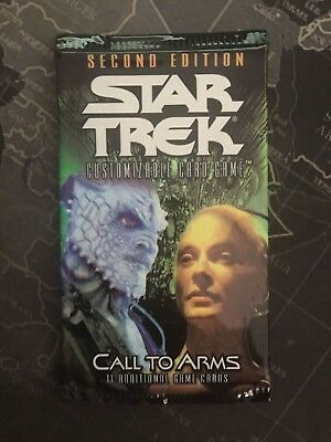 Star Trek CCG 2E - Call to Arms - Sealed Booster Pack - TCG Cards Decipher