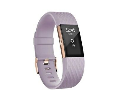 Fitbit Charge 2 HR+ Wristband *Rose Gold Special Edition* - Small