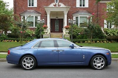 2010 Rolls-Royce Ghost Base 4dr Sedan 2010 Rolls-Royce Ghost Base 4dr Sedan Automatic 8-Speed RWD V12 6.6L Gasoline