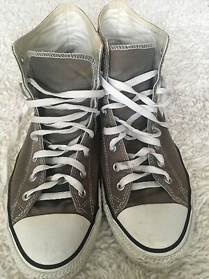 Details about Unisex NWOB Men's 9 Wo 11 Converse Sneakers ALL STAR Grey Vegan Vietnam